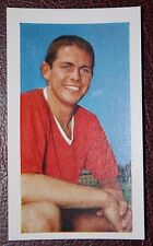Manchester United      Wilf McGuiness    Vintage Colour Footballer Photo Card