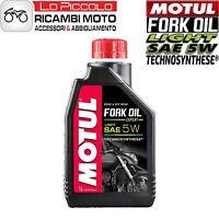 OLIO FORCELLA MOTUL FORK OIL SAE 5W 100% UNIVERSALE MOTO