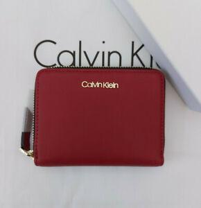 Calvin Klein Ladies Small Zip Around Wallet Purse New Boxed