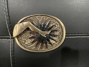 The Gal Leg Belt Buckle Spur Back To The Future III 3 Micheal J Fox Marty Mcfly