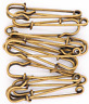Safety Pins Large Heavy Duty Safety Pin - LeBeila 12pcs Blanket Pins 2 Inch Stai