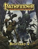 Pathfinder Rôle Jeu : Bestiary 4 Pocket Edition Par Staff, Paizo , Neuf Livre
