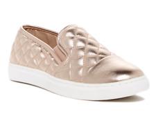 Steve Madden Zaander Women's Metallic Slip On Leather Sneaker Sz 8M 5084