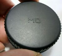 """MD"" Rear Lens Cap SR MC MD mount for Minolta manual focus lenses"