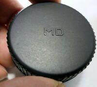 """""""MD"""" Rear Lens Cap SR MC MD mount for Minolta manual focus lenses"""