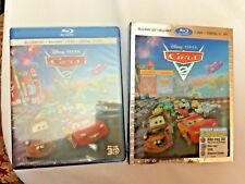Cars 2:5-Disc Blu-ray, Narnia & G-Force. 3 Awesome Movies up for Auction.All New