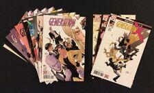 GENERATION X #1 - 9 Comics #85 - 87 Marvel Legacy FULL SERIES X-Men New Mutants