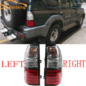 For Toyota Land Cruiser Prado FJ90 LC90 3400/2700 1998-2002 LED Rear Tail Lamps