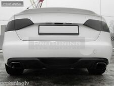 Rear trunk spoiler Audi A4 B8 08-16 S line lip back door S-Line abt s4 rs4 boot