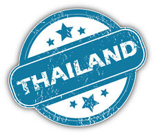 Thailand Grunge Stamp Car Bumper Sticker Decal 5'' x 4''