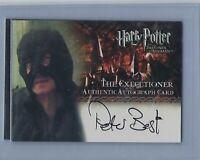 Harry Potter Prisoner Of Azkaban Up Peter Best As The Executioner Autograph Card