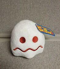 "White Ghost Ms. Pac-Man Plush 5"" Stuffed Toy BANDAI NAMCO"