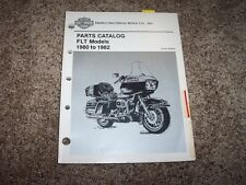 1980-1982 Harley Davidson FLT Road Tour Glide Classic Parts Catalog Manual 81