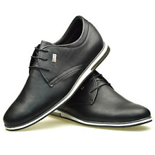 Mens New Casual Black Blue Brown Grey Suede Party Lace Up Formal Trainers Shoes