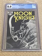 Moon Knight 17 CGC 8.0 OW/White Pages (Classic Cover!!) CGC #017