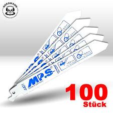lames de scie alternative Lame de scie Tiger métal 100 pièce 150 mm