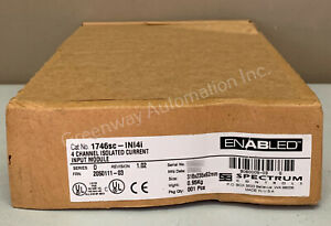 New Spectrum Controls 1746sc-ini4i /D 4CH Isolated Current Input Guaranteed