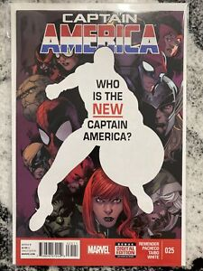 Captain America 25 1st Sam Wilson (Falcon) as Captain America 9.0-9.4 - 2014