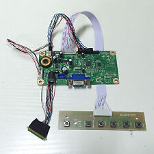 "VGA LCD Controller Board Driver For 10.1"" LTN101NT02 1024*600 40Pin Plug&Play"
