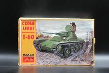 Vintage Light tank T-60 Model kit with separate track link set Scale  1:35