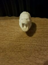 "King Kong Screaming Casted Head For Custom Figures 6-9"" Scale"
