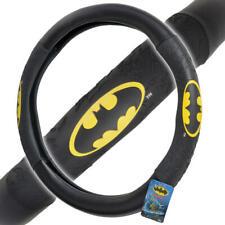 Official Batman Steering Wheel Cover Leather Ergonomic Skin Universal Size