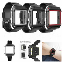 For Fitbit Blaze Bracelet Replacement Silicone Watch Band Wrist Band Strap US
