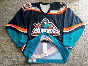 Authentic NY Islanders Fisherman Team Issued Hockey Jersey 54 RARE