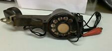 Rubberized BECO Lineman Telephone  Tester Rotary Dial Phone Handset