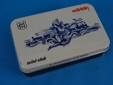 Marklin 80913 Modellbahn Treff 2003 Mini Club car Tin Plate Box Z Mini club