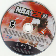 NBA 2K11 (Sony PlayStation 3, 2010) DISC ONLY WORKS