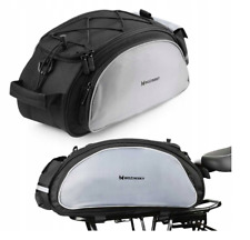 Wozinsky Fahrradtasche Gepäcktasche, Schultertasche Gepäckträger Tasche 13L