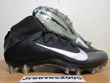 Nike Vapor Untouchable 2 Football Cleats Sz 10.5 100% Authentic Black 824470 002