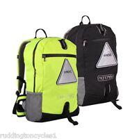 ProVis Nightrider Large Commuting  Backpack Rucksack High Vis Visibility Black