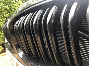 BMW 1 SERIES Grill Double Slat Gloss Black 2015-19 F20 F21 M Sport. LCI Twin Bar