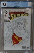 Supergirl #1 2nd Printing CGC 9.8 2029421002 JSA & Solomon Grundy app Turner cvr