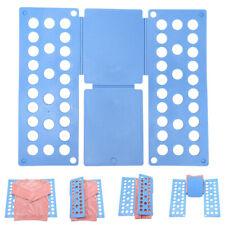 Adjustable T-Shirt Clothes Fast Folder Folding Board Laundry Organizer Foldable