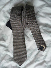 Gieves and Hawkes Brand New with tag Grey Stripe Silk tie RRP £75