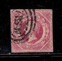 New South Wales stamp #31, used, imperf, SCV $140.00