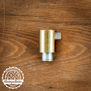 Metal cord grip cylinder #2 Antique Bronze pendant strain relief cable lock 10mm