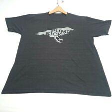 New Belgium Brewing Graphic T-Shirt Pump Kick Ale Raven Bird American Apparel Xl