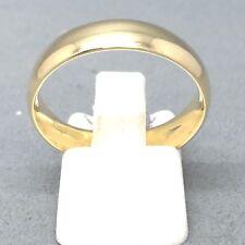 "AWESOME 9CT YELLOW GOLD PLAIN ""WEDDING BAND"" DRESS RING SIZE ""U""   1710"