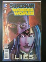 SUPERMAN / WONDER WOMAN #21 (2015 The NEW 52, DC Comics) ~ VF/NM Book