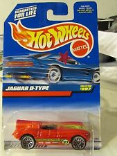 Hot Wheels Jaguar D-Type #997 Red