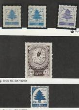 Lebanon, Postage Stamp, #315, 341 Hinged, 313-296 Mint LH, 1953-61