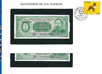 Banknotes of All Nations Paraguay 1982 P-205a.1 100 Guaranies UNC 2 Concecutive