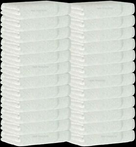 24X Bleach Chlorine Resistant Salon Towels Hairdressing White Hand, Spas, Gym