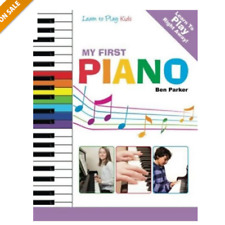 My First Piano Learning Piano Keyboard Instruction Book Kids Learn To Play Key