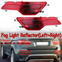 Set Left + Right Rear Bumper Fog Light Reflector for BMW X6 E71 E72  DYY!