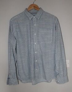 FAT FACE shirt blue long sleeved shirt, large excellent condition